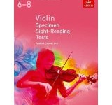 Violing Specimen Sight Reading 6-8