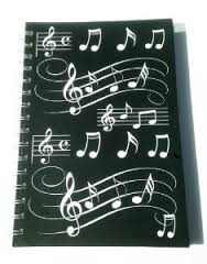 A5 music notes