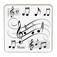 Music Notes Coasters