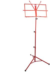 Music Stand Red