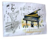 Piano Tea Towel