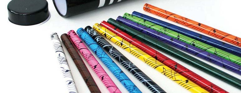 12 COloured Pencils Keyboard