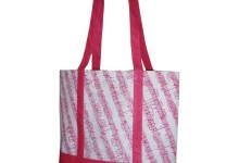 Bag Music Stave Pink