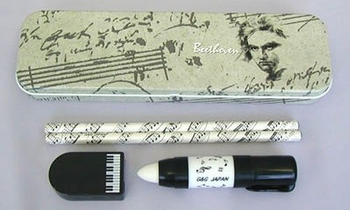 Beethoven Pencil Tin