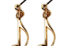 Earrings quaver