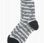 Kids Sheet Music Socks