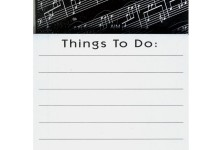 Magnetic Pad Sheet Music