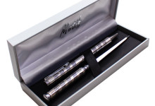 Silver Plated Pen Set