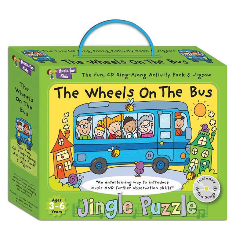 JINGLE PUZZLE: The Wheels On The Bus